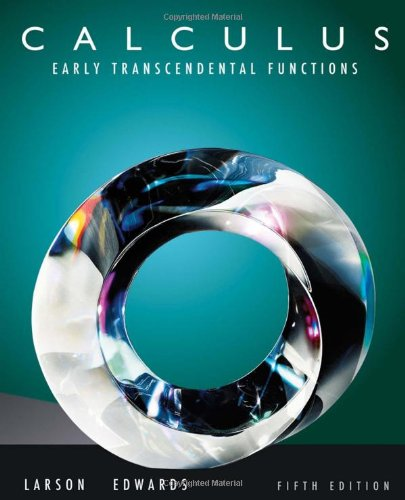 Calculus Early Transcendental Functions 5th 2011 9780538735506 Front Cover