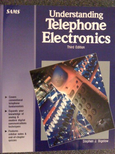 Understanding Telephone Electronics  3rd 9780672273506 Front Cover