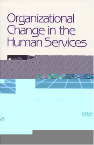 Organizational Change in the Human Services   2001 edition cover