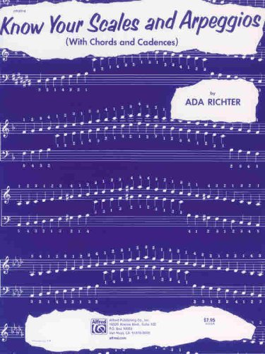 Know Your Scales and Arpeggios   1994 edition cover