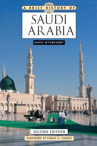 Brief History of Saudi Arabia  2nd 2010 (Revised) edition cover