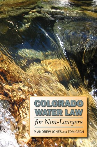 Colorado Water Law for Non-Lawyers   2009 edition cover