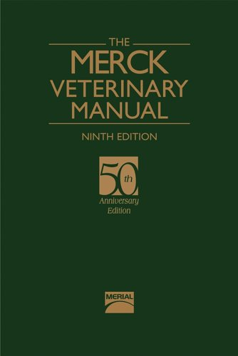 Merck Veterinary Manual  9th 2005 (Revised) edition cover
