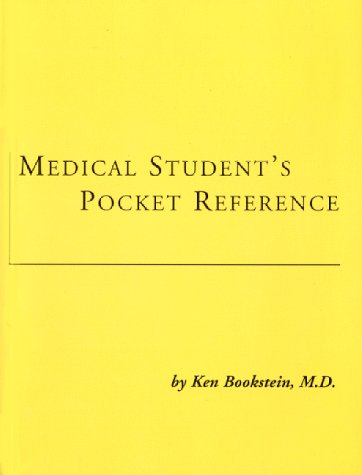 Medical Student's Pocket Reference 1st 9780966064506 Front Cover