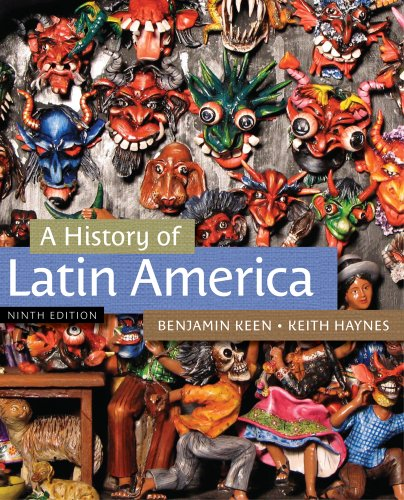 History of Latin America  9th 2013 edition cover