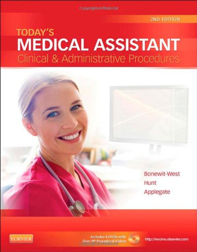 Today's Medical Assistant Clinical and Administrative Procedures 2nd 2013 edition cover