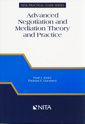 Advanced Negotiation and Mediation Theory and Practice A Realistic Integrated Approach  2005 edition cover