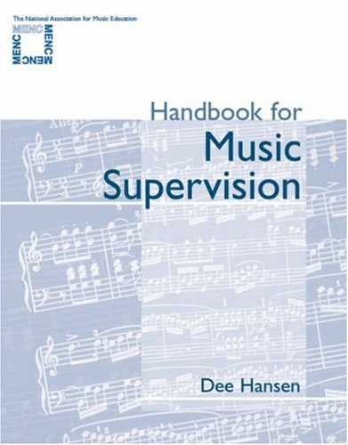 Handbook for Music Supervision   2002 edition cover