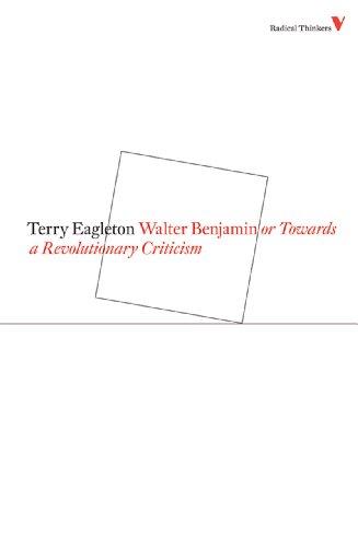 Walter Benjamin Or, Towards a Revolutionary Criticism  1981 edition cover