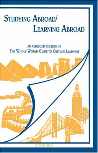 Studying Abroad/Learning Abroad An Abridged Edition of the Whole World Guide to Culture Learning  1997 (Abridged) edition cover