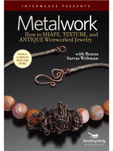 Metalwork - How To Shape, Texture, and Antique Wireworked Jewelry System.Collections.Generic.List`1[System.String] artwork