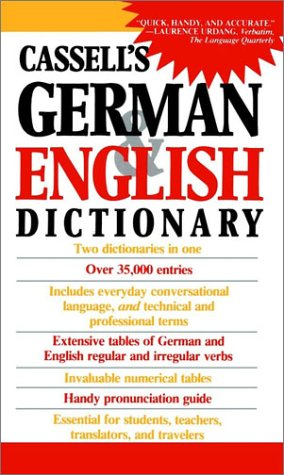 German English Dictionary   2002 edition cover