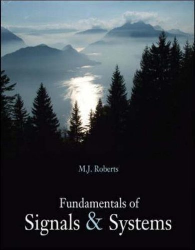 Fundamentals of Signals and Systems   2008 9780073309507 Front Cover