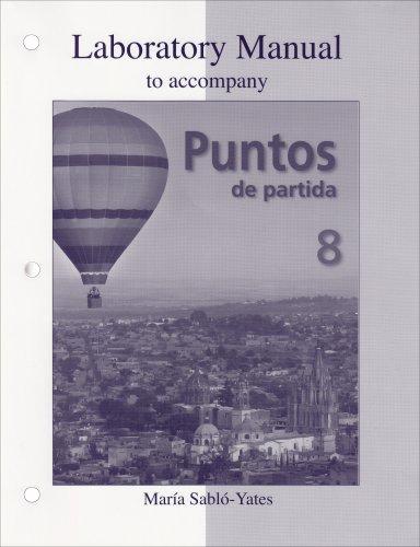 Puntos de Partida An Invitation to Spanish 8th 2009 9780073325507 Front Cover