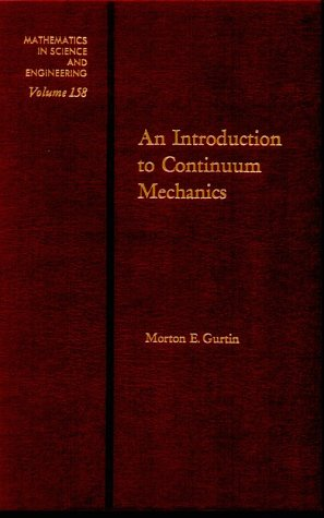 Introduction to Continuum Mechanics   1981 9780123097507 Front Cover
