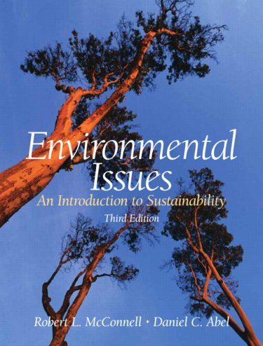 Environmental Issues An Introduction to Sustainability 3rd 2008 (Revised) edition cover