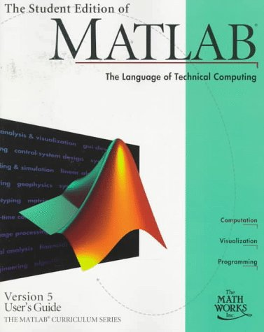 MATLAB User's Guide  1st 1997 (Student Manual, Study Guide, etc.) 9780132725507 Front Cover