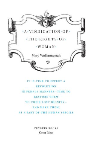 Vindication of the Rights of Woman   2006 edition cover
