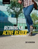 Becoming an Active Reader Skills in Reading and Writing  2013 edition cover