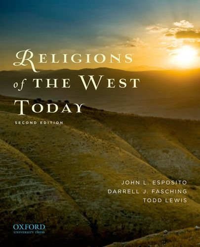 Religions of the West Today  2nd 2012 edition cover