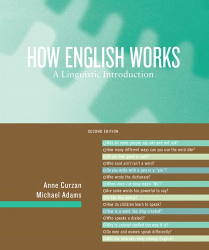 How English Works A Linguistic Introduction 2nd 2009 edition cover