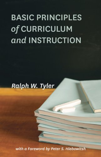 Basic Principles of Curriculum and Instruction   2013 edition cover