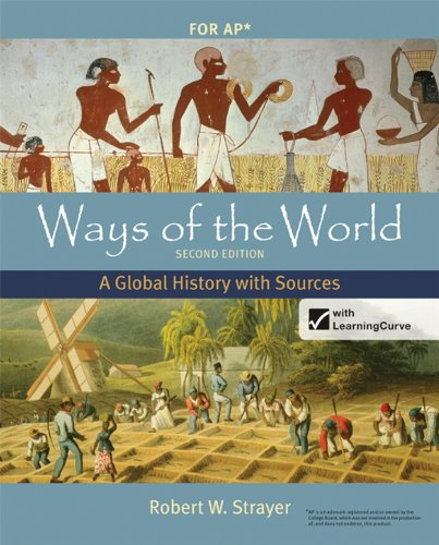Ways of the World with Sources A Global History 2nd 9780312583507 Front Cover