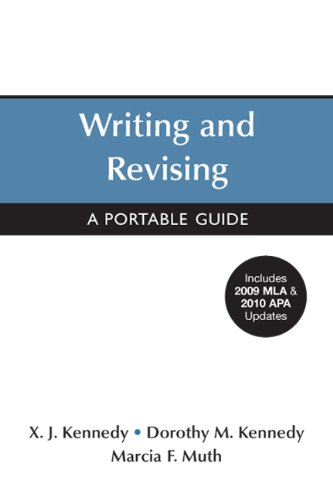 Writing and Revising with 2009 MLA and 2010 APA Updates A Portable Guide  2011 edition cover