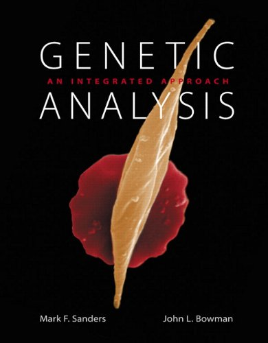 Genetic Analysis An Integrated Approach  2012 (Revised) edition cover