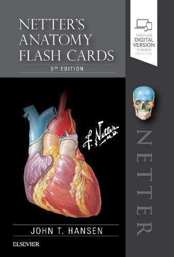 Netter's Anatomy Flash Cards  5th 2019 9780323530507 Front Cover