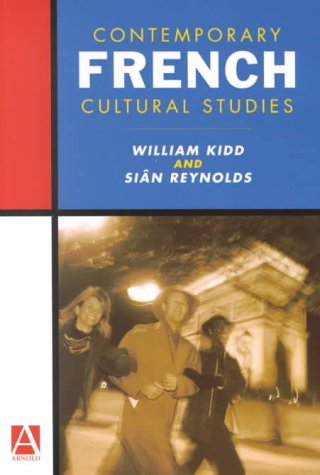 Contemporary French Cultural Studies   2000 edition cover