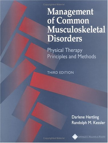Management of Common Musculoskeletal Disorders Physical Therapy Principles and Methods 3rd 1996 (Revised) edition cover