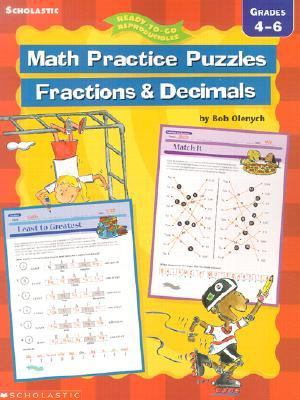 Ready-to-Go Reproducibles Math Practice Puzzles N/A 9780439288507 Front Cover