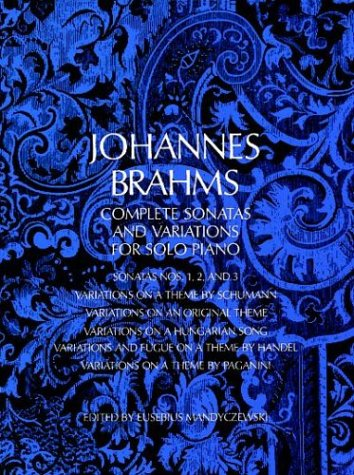 Complete Sonatas and Variations for Solo Piano  Reprint edition cover