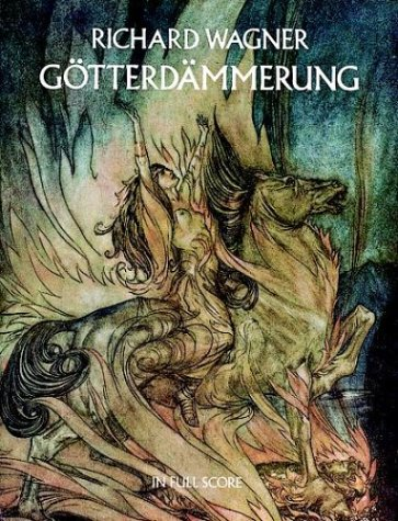 Gotterdammerung in Full Score  Reprint edition cover
