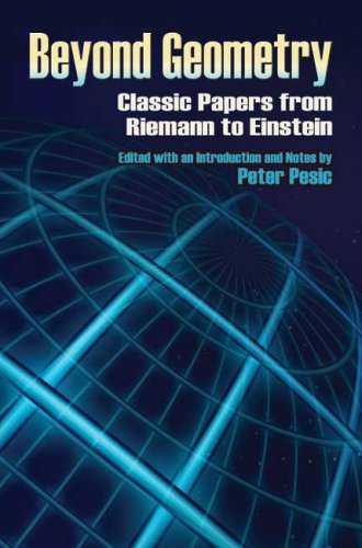 Beyond Geometry Classic Papers from Riemann to Einstein  2007 edition cover