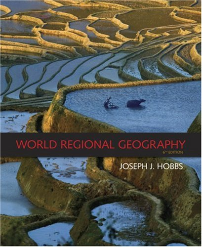 World Regional Geography  6th 2009 edition cover
