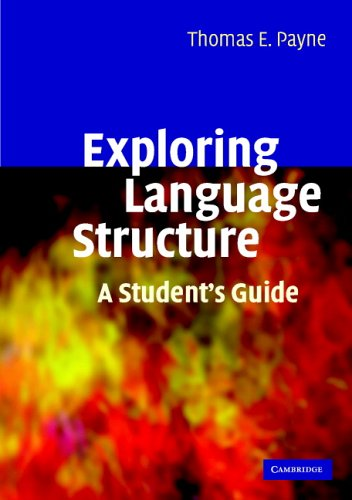 Exploring Language Structure A Student's Guide  2006 (Student Manual, Study Guide, etc.) edition cover