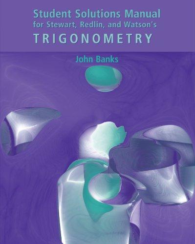 Trigonometry   2003 9780534385507 Front Cover