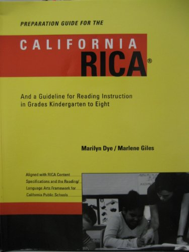 PREPARATION GUIDE F/CALIFORNIA 1st 9780618155507 Front Cover