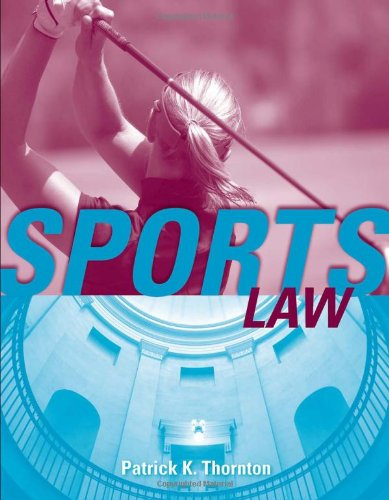 Sports Law   2011 (Revised) edition cover