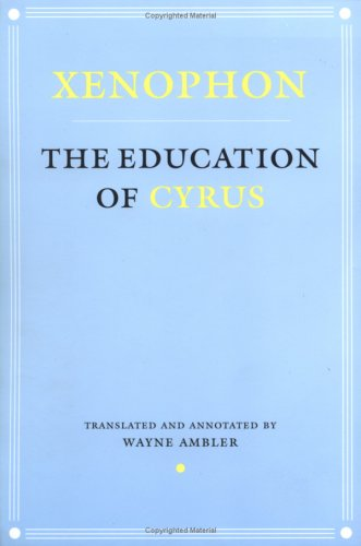 Education of Cyrus   2001 edition cover