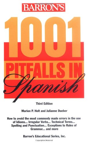 1001 Pitfalls in Spanish  3rd 1997 edition cover