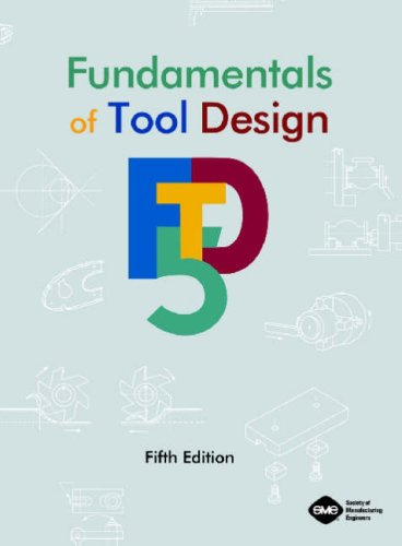 Fundamentals of Tool Design  5th 2003 edition cover