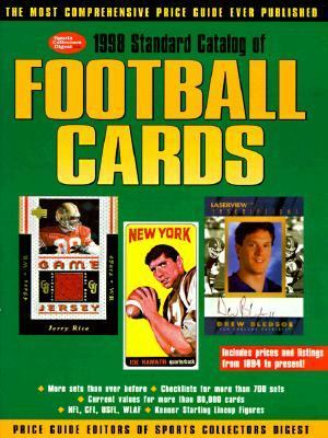 1998 Standard Catalog of Football Cards  1997 9780873415507 Front Cover