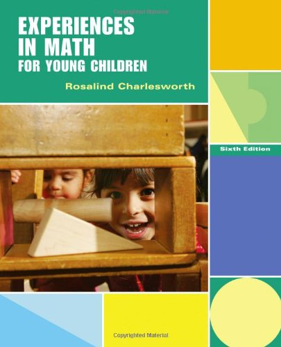 Experiences in Math for Young Children  6th 2012 edition cover