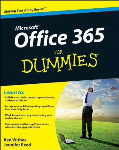 Microsoft Office 365 for Dummies   2012 9781118104507 Front Cover