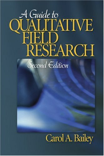 Guide to Qualitative Field Research  2nd 2007 (Revised) edition cover