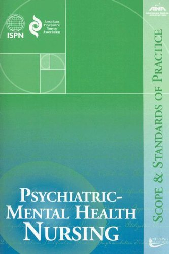 Psychiatric-Mental Health Nursing : Scope and Standards of Practice 1st 2007 edition cover