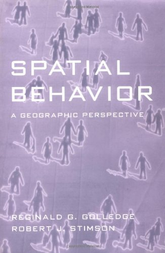 Spatial Behavior A Geographic Perspective  1997 edition cover